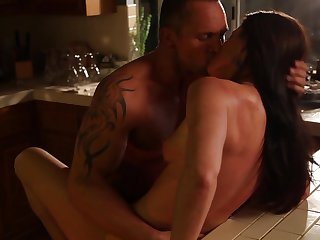 Marcus London is one hard-dicked stud who loves oral sex with Brunette sweetie India Summer