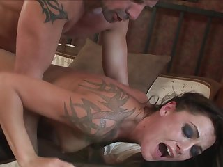 David Perry shoots hos load after Brunette Chayse Evans gives magic throat job