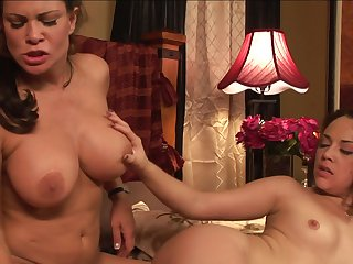 Milf Kristina Rose and Teri Weigel are two dykes that can't keep their hands off each other